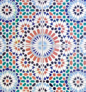 Marokkaanse wandtegels (Zellige)