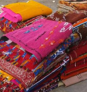 Marokkaanse tapijten en kleden