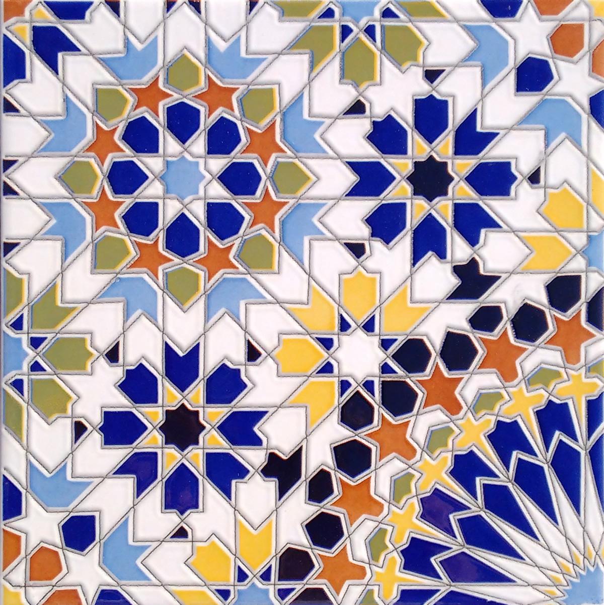 Beroemd Marokkaanse tegels | Depot du Maroc #AL77
