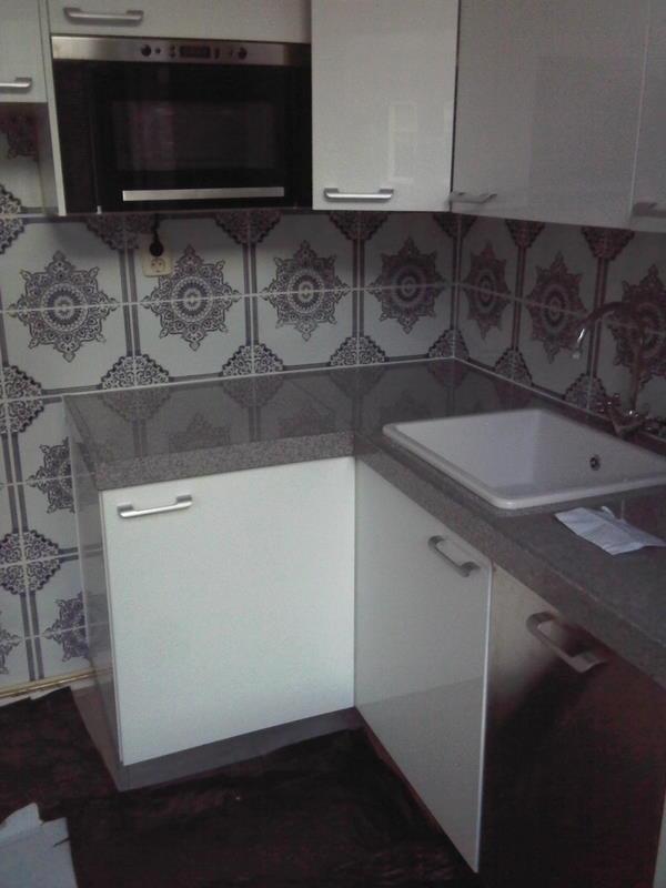 Barok achtig marokkaans tegel in de keuken   depot du maroc